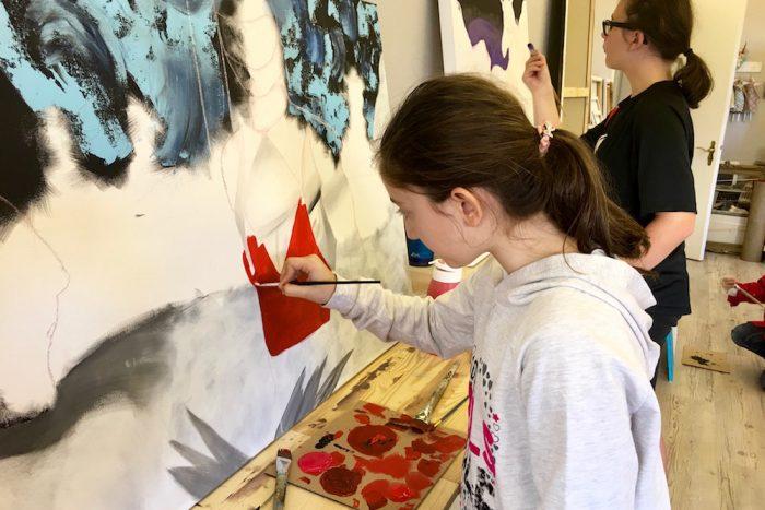 Malschule Schwelm, Claudia Militz, Anleitung Malen, Mal Kurse, Kinder Malkurs, Malen lernen, Bilder malen lernen, Malerei lernen